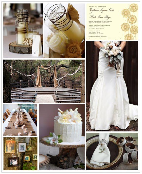 Rustic Wedding Ideas: Kerri Gilpin-Jason Percy Wedding: Rustic Wedding Decor