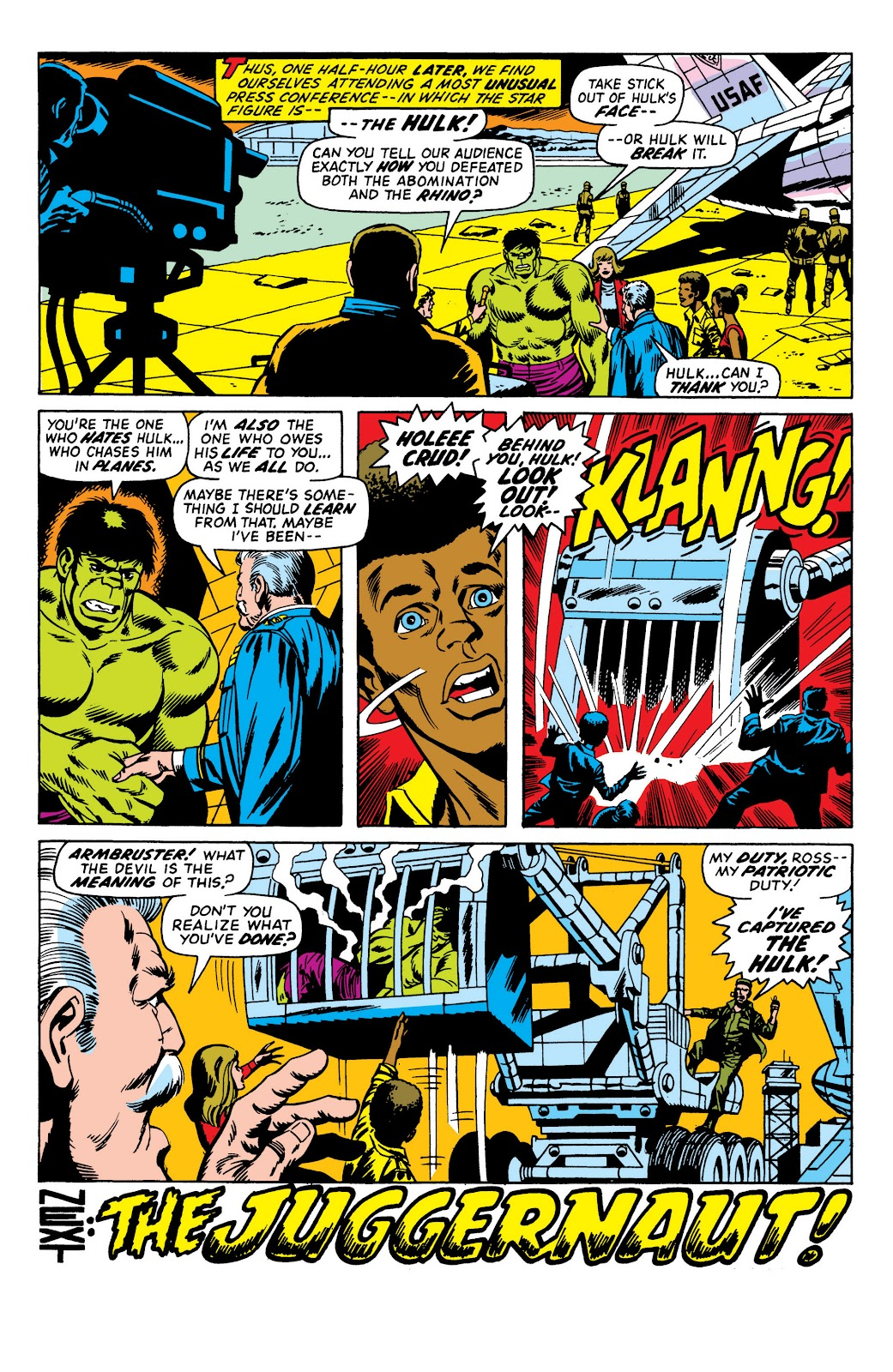 Read online Marvel Masterworks: The Incredible Hulk comic -  Issue # TPB 10 (Part 1) - 27