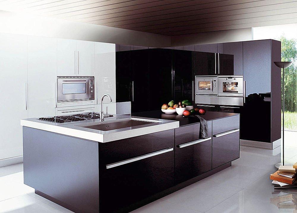 Decora y disena cocinas integrales modernas en color for Cocinas integrales en l pequenas