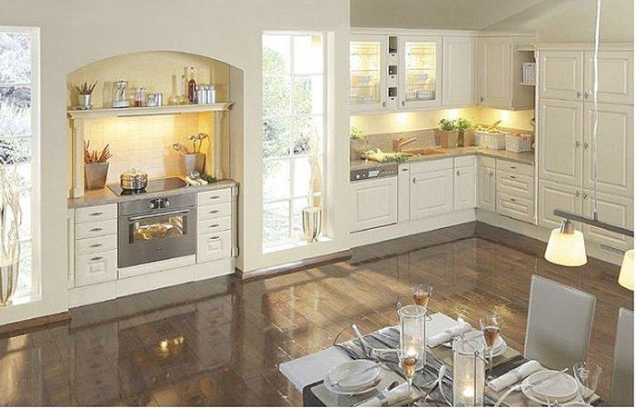 Decora y disena 10 fotos de cocinas estilo cl sico for Cocinas integrales clasicas