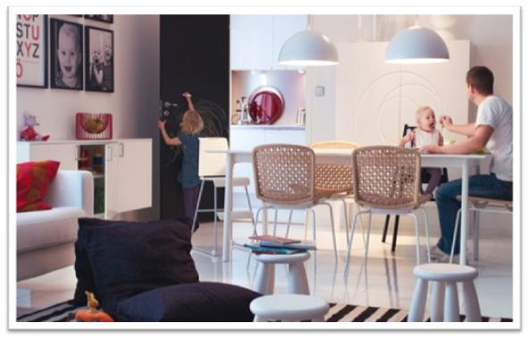 decora y disena: 5 Fotos Comedores Modernos Ikea 2011