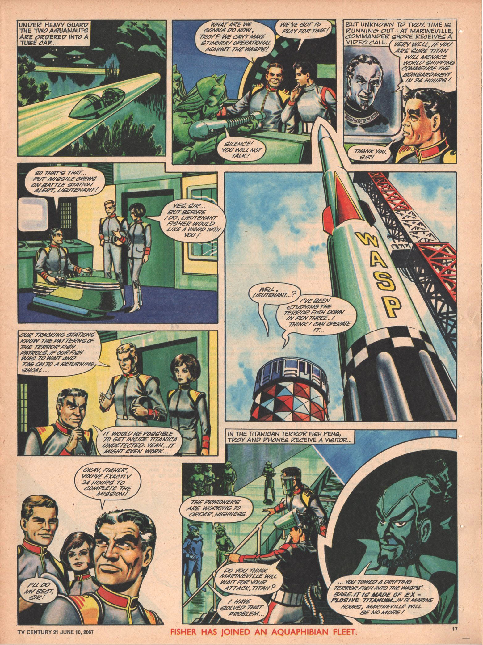 Read online TV Century 21 (TV 21) comic -  Issue #125 - 16