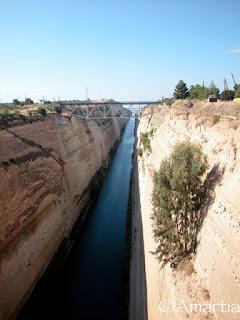 Canal de Corinthe Corinthie