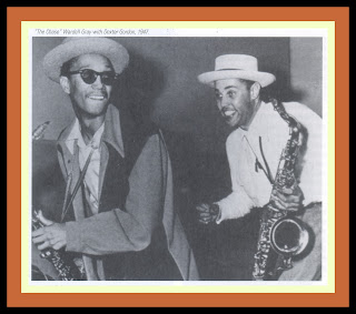 Dexter Gordon And Wardell Gray Complemented Each Other Both Musically In Their Physical Appearance Were Tall Handsome Men With Commanding Stage