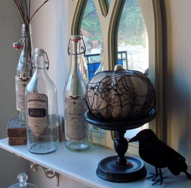 Thrifty Blogs On Home Decor: STARSHINE CHIC : Frugal Halloween Decor