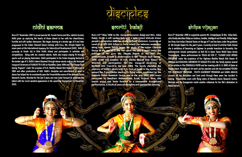 Bharatanatyam Arangetram Invitation Samples
