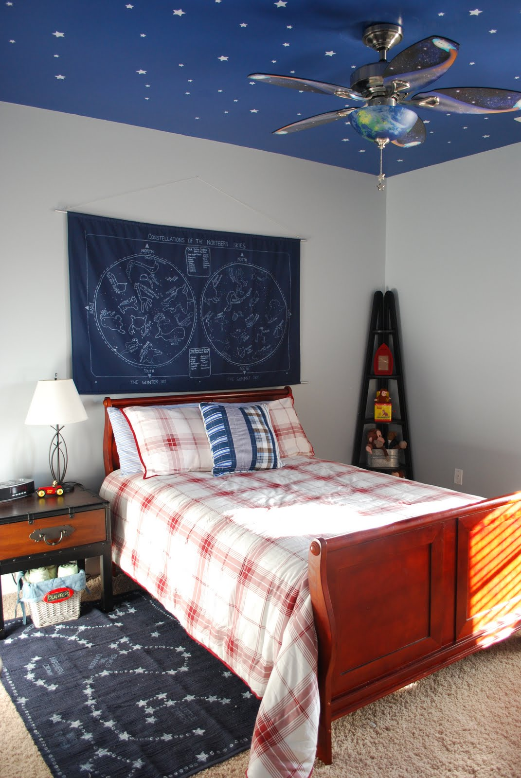 space themed bedroom fussy monkey business e s space themed room 13371