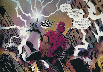 Spider-Man attempts to evade capture by some of his biggest foes.  Cities get in the way.