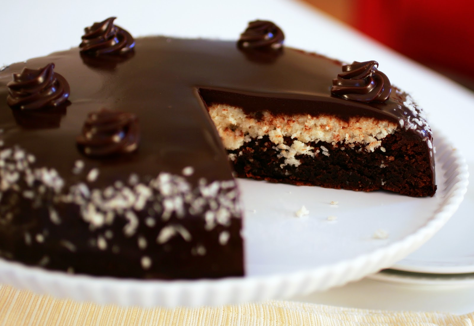 Chocolate Cake Made With Coconut Flour