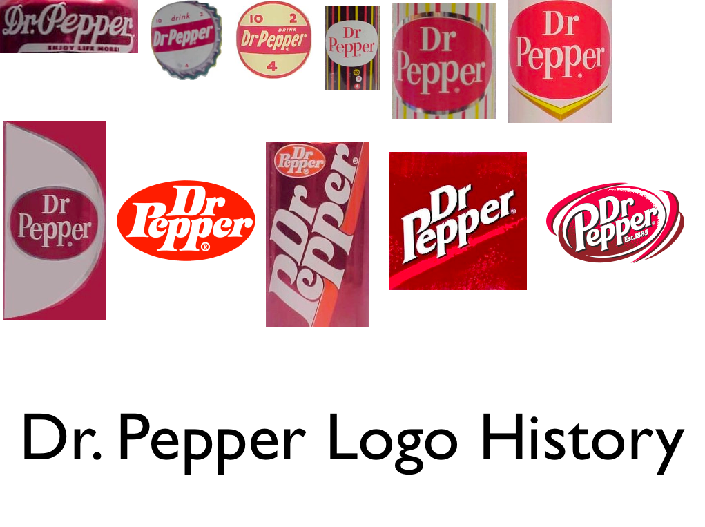 Logo Histories: Dr. Pepper