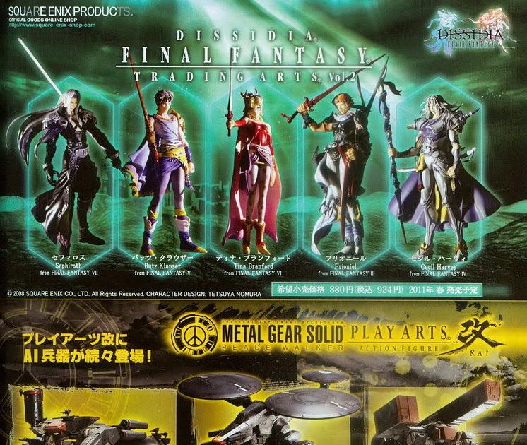 Anything ♥: Final Fantasy Trading Arts Vol.2