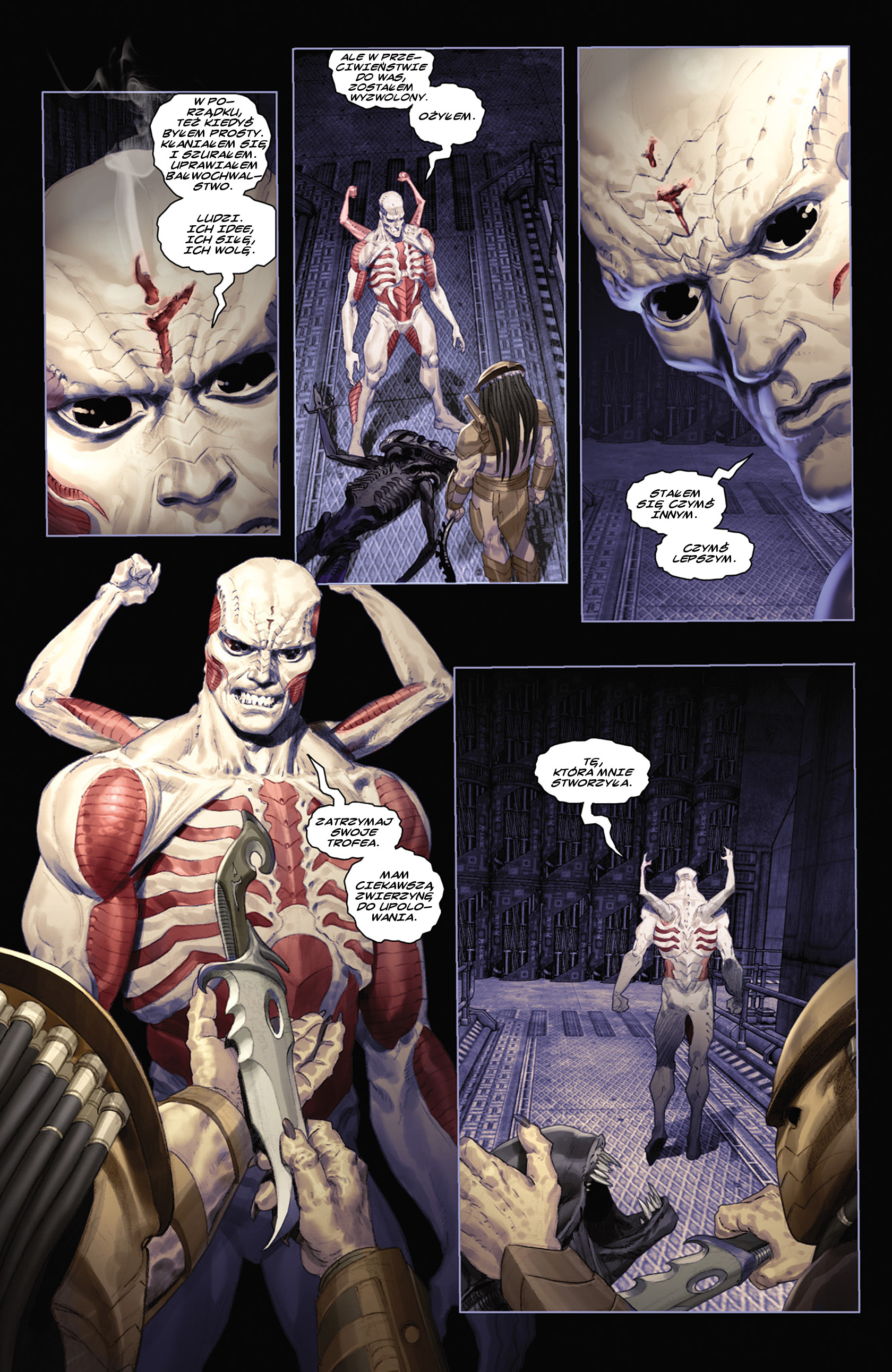 Read online Alien vs. Predator: Fire and Stone comic -  Issue #2 - 12