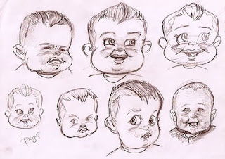 Especial. Instead facial expressions caricatures think