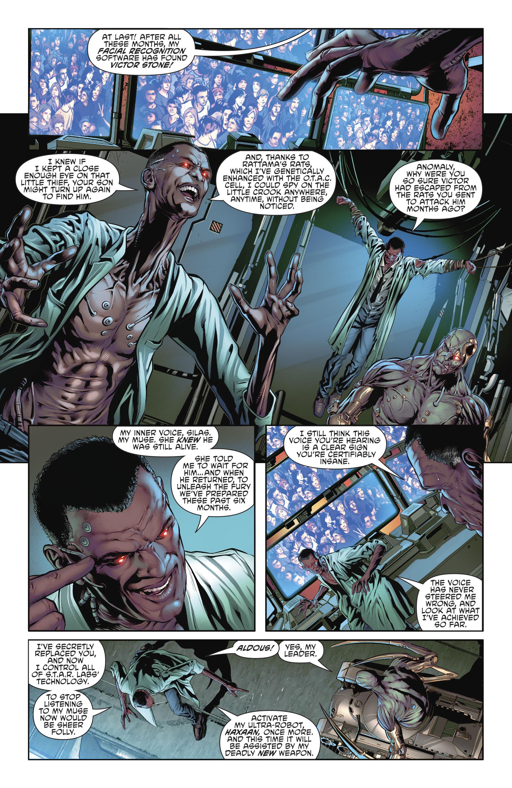 Read online Cyborg (2016) comic -  Issue #12 - 11