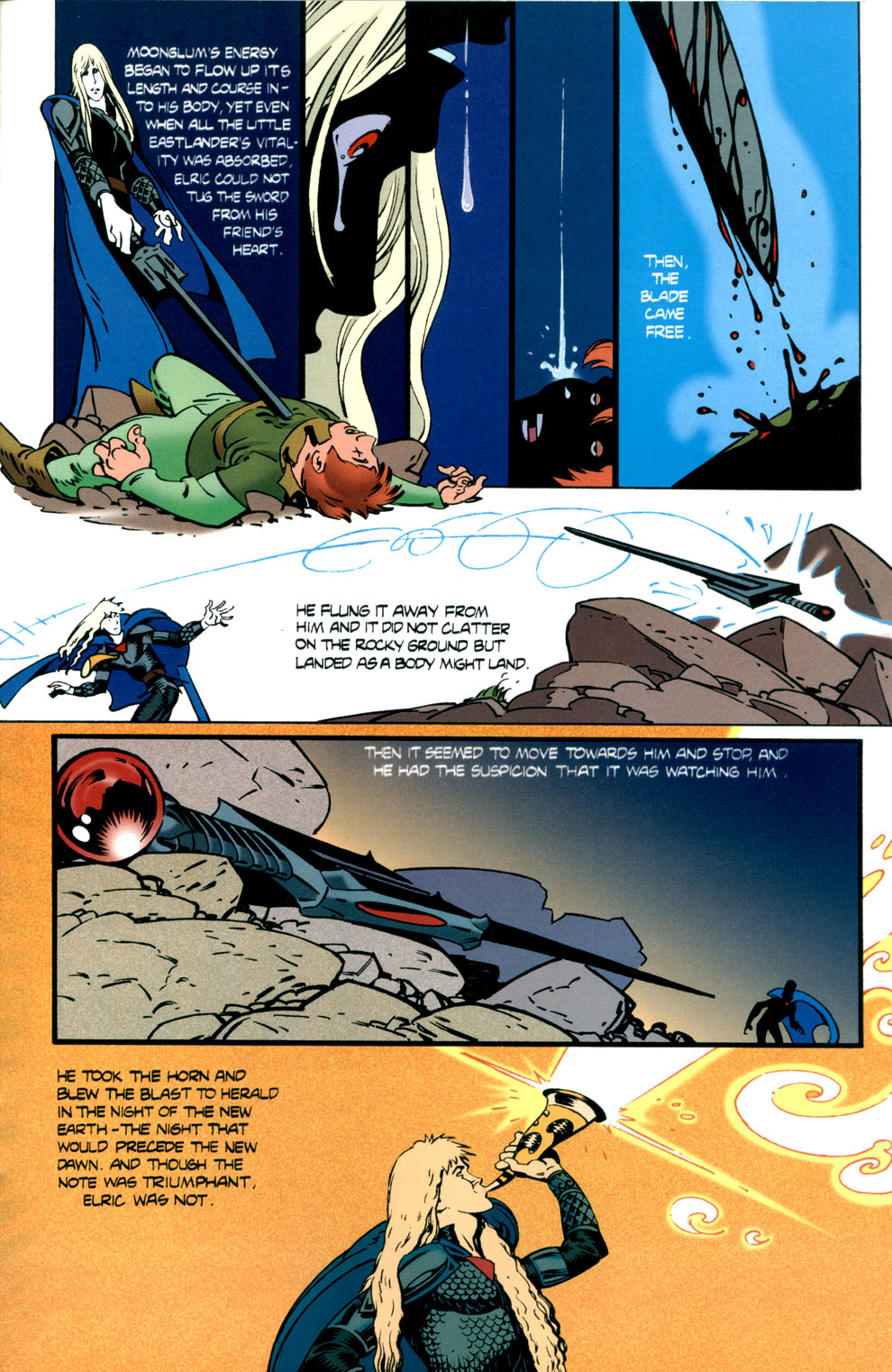 Read online Elric: Stormbringer comic -  Issue #7 - 25
