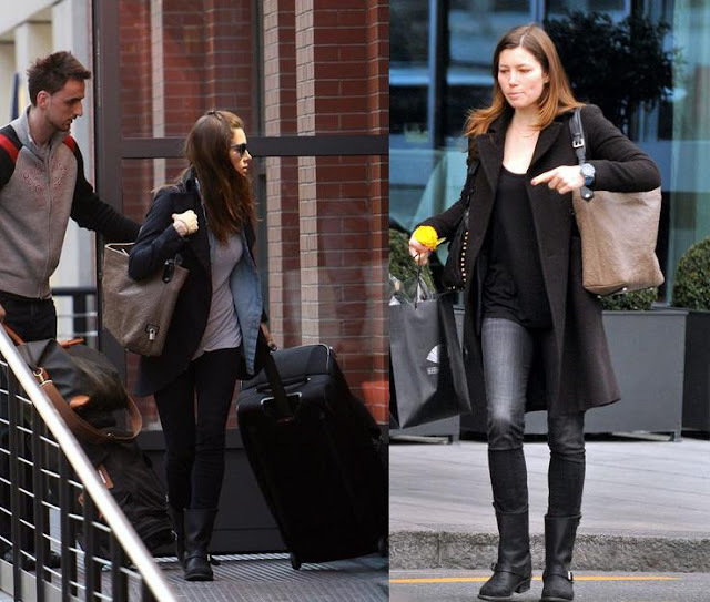 Antheia bag Louis Vuitton Jessica Biel