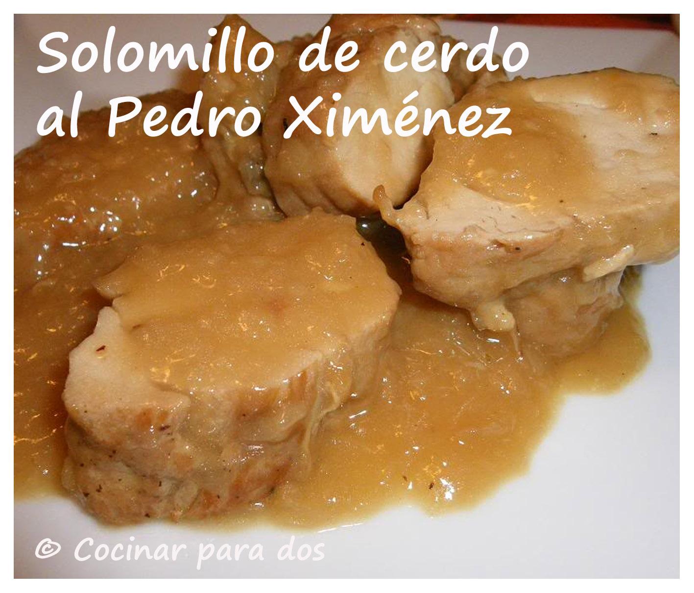 Solomillo De Cerdo Al Pedro Ximénez
