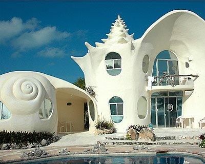 Fiore Interiors: Wanderlust: Shell House in Isla Mujeres ...