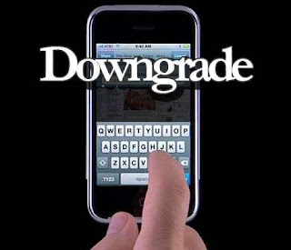 Downgrade iPhone OS 40