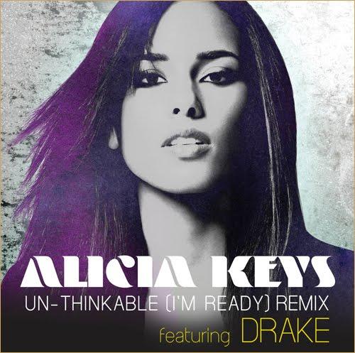 Blue vinyl radio: new music: alicia keys ft drake unthinkable remix.