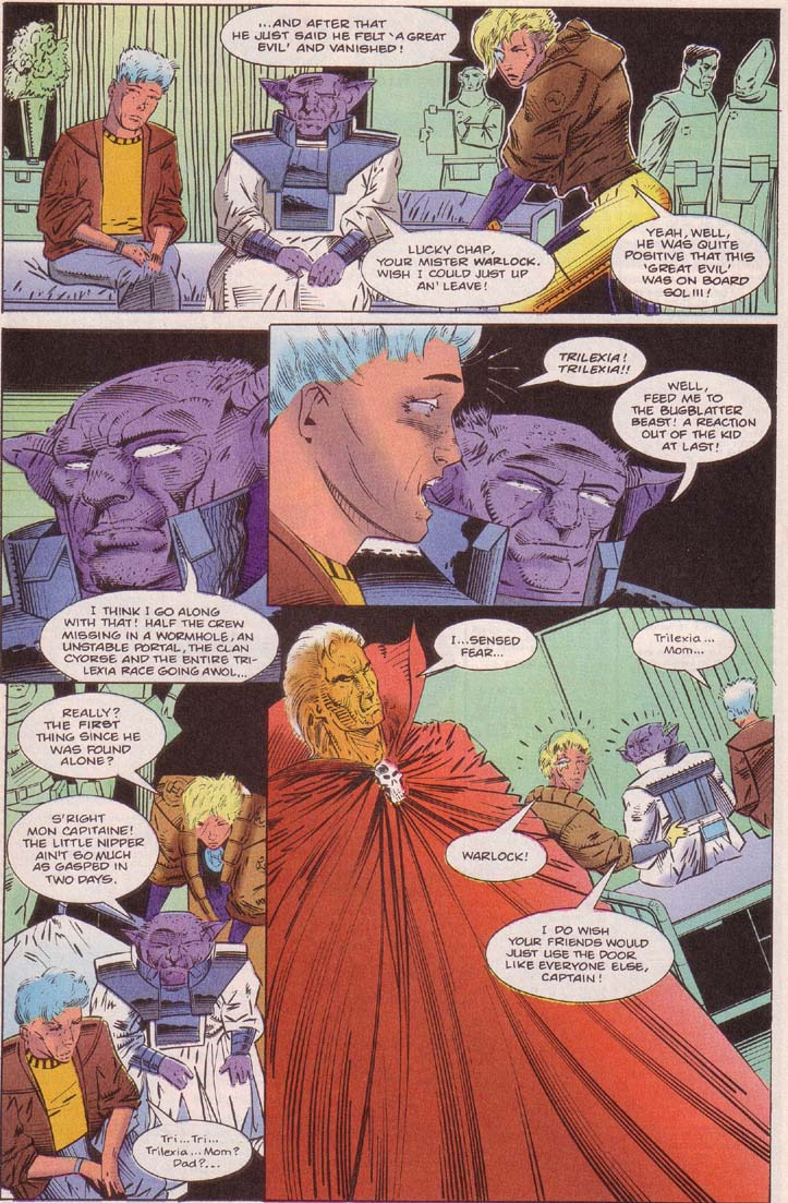 Read online Cyberspace 3000 comic -  Issue #7 - 6