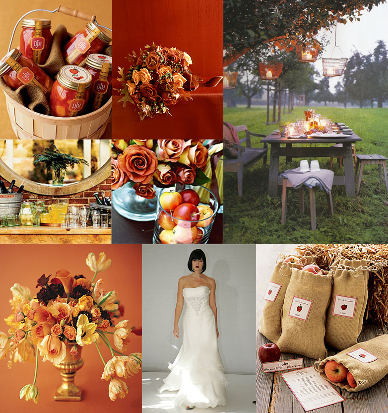 Fall Themed Wedding Ideas: Wedding Wednesdays: Fall Is In The Air