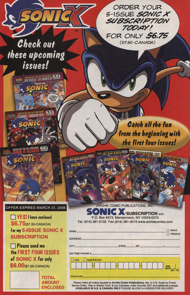Read online Sonic X comic -  Issue #4 - 29