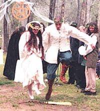 witch wedding