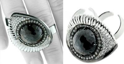 91cabb4d4924 Delfina Delettrez Special Order Double Band Eye Ring