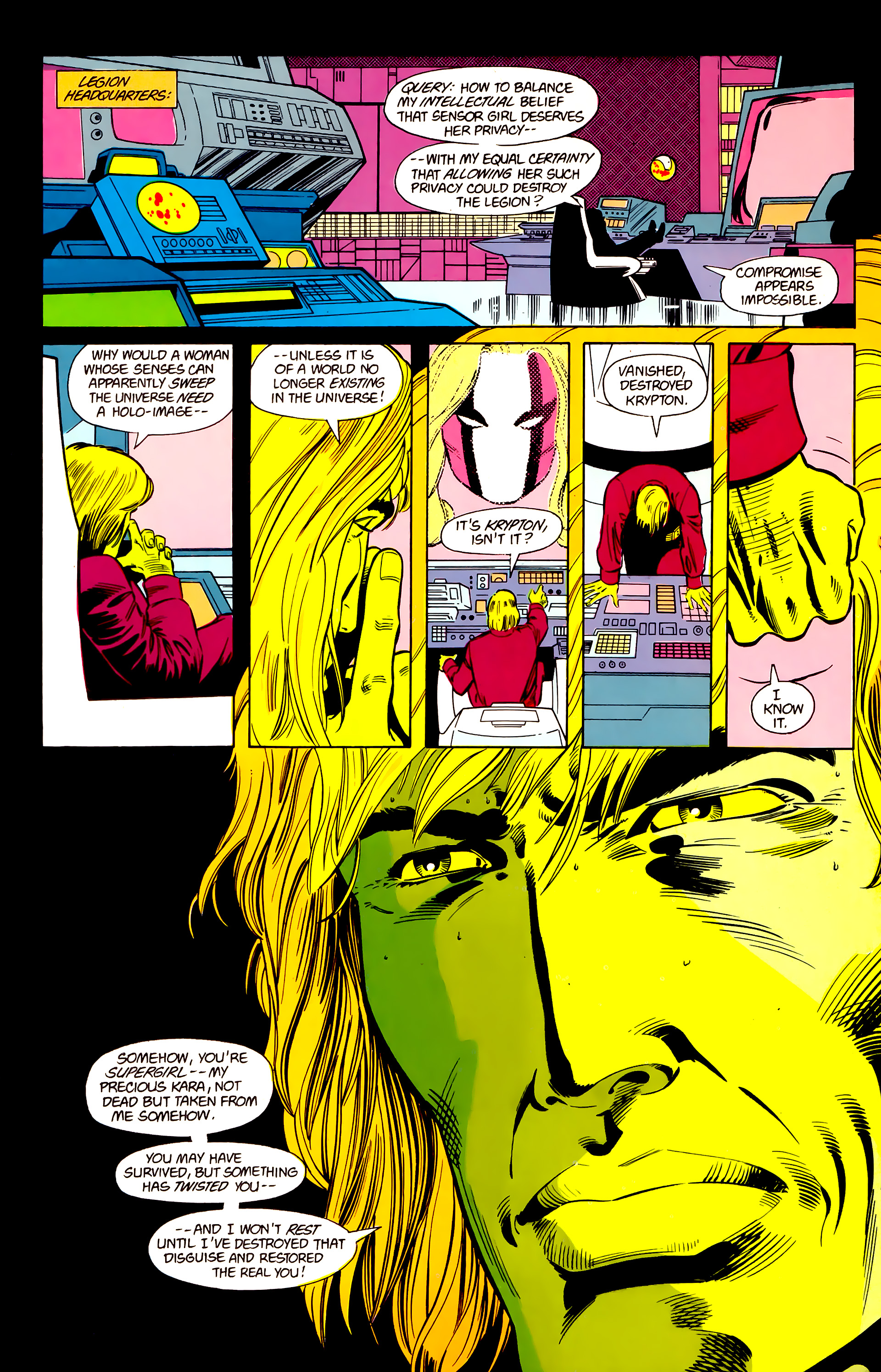 Legion of Super-Heroes (1984) 21 Page 22