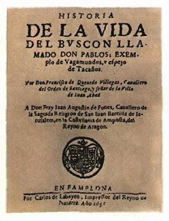 HISTORIA DE LA VIDA DEL BUSCÓN, LLAMADO DON PABLOS