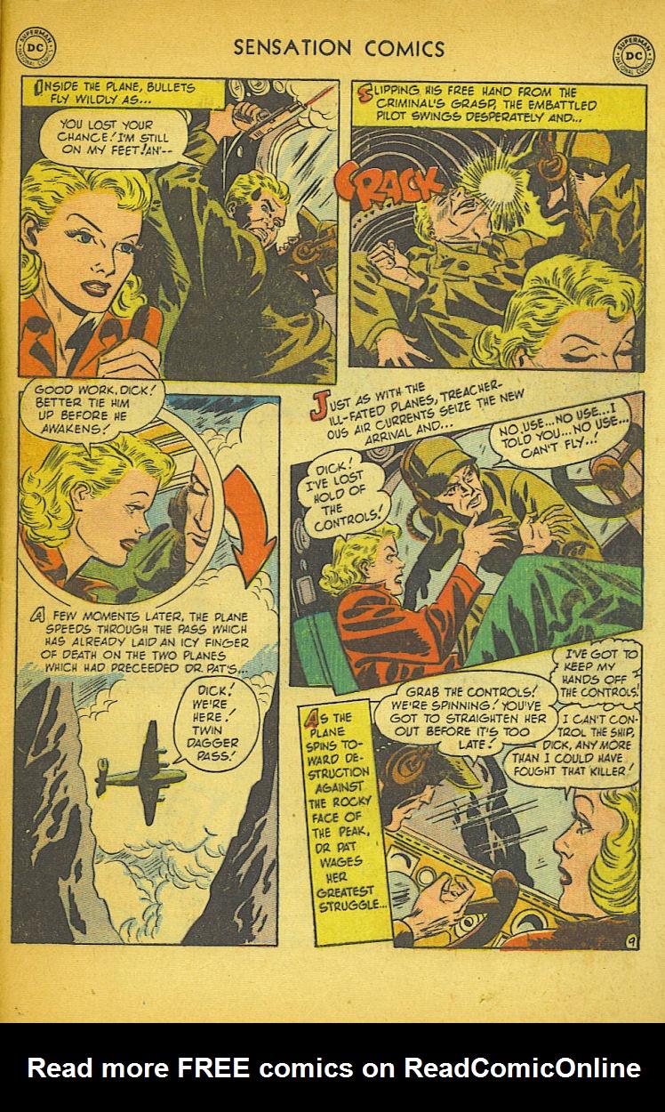 Read online Sensation (Mystery) Comics comic -  Issue #104 - 49