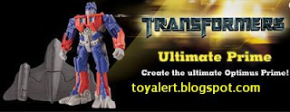 Burger King Transformers Revenge of the Fallen toys 2009 - Ultimate Prime toy