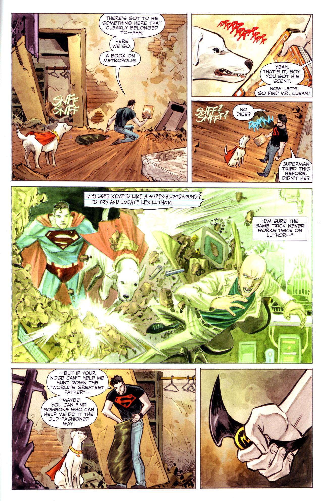 Read online Adventure Comics (2009) comic -  Issue #3 - 10