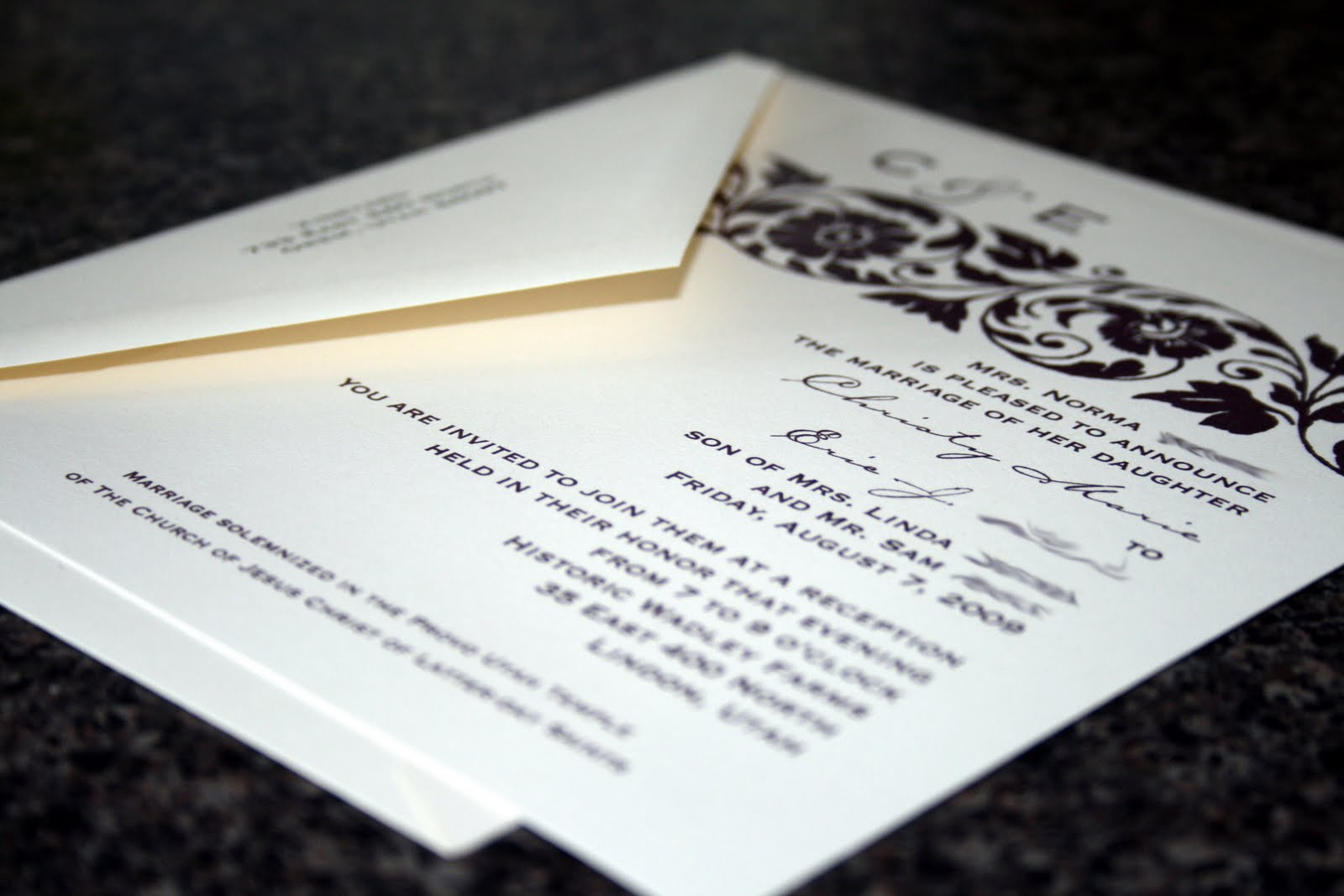 Ways To Save On Wedding Invitations: Wedding Invitation Blog: Save Money On The Postage Of