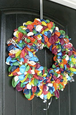 Creative Ideas For You Happy Birthday Door Wreath