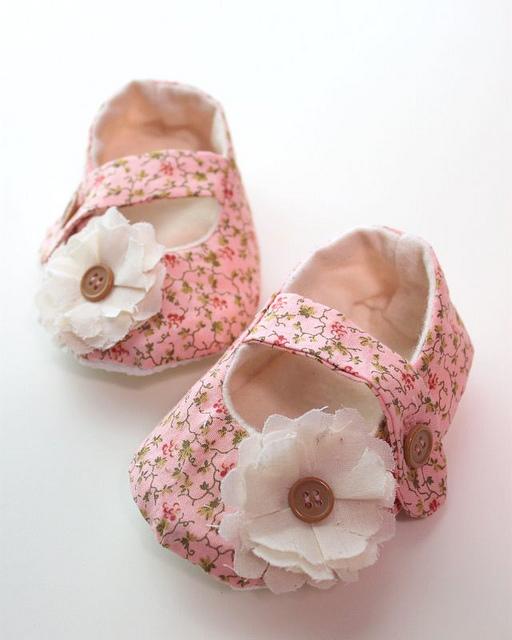 Handmade Felt Baby Shoes Pattern