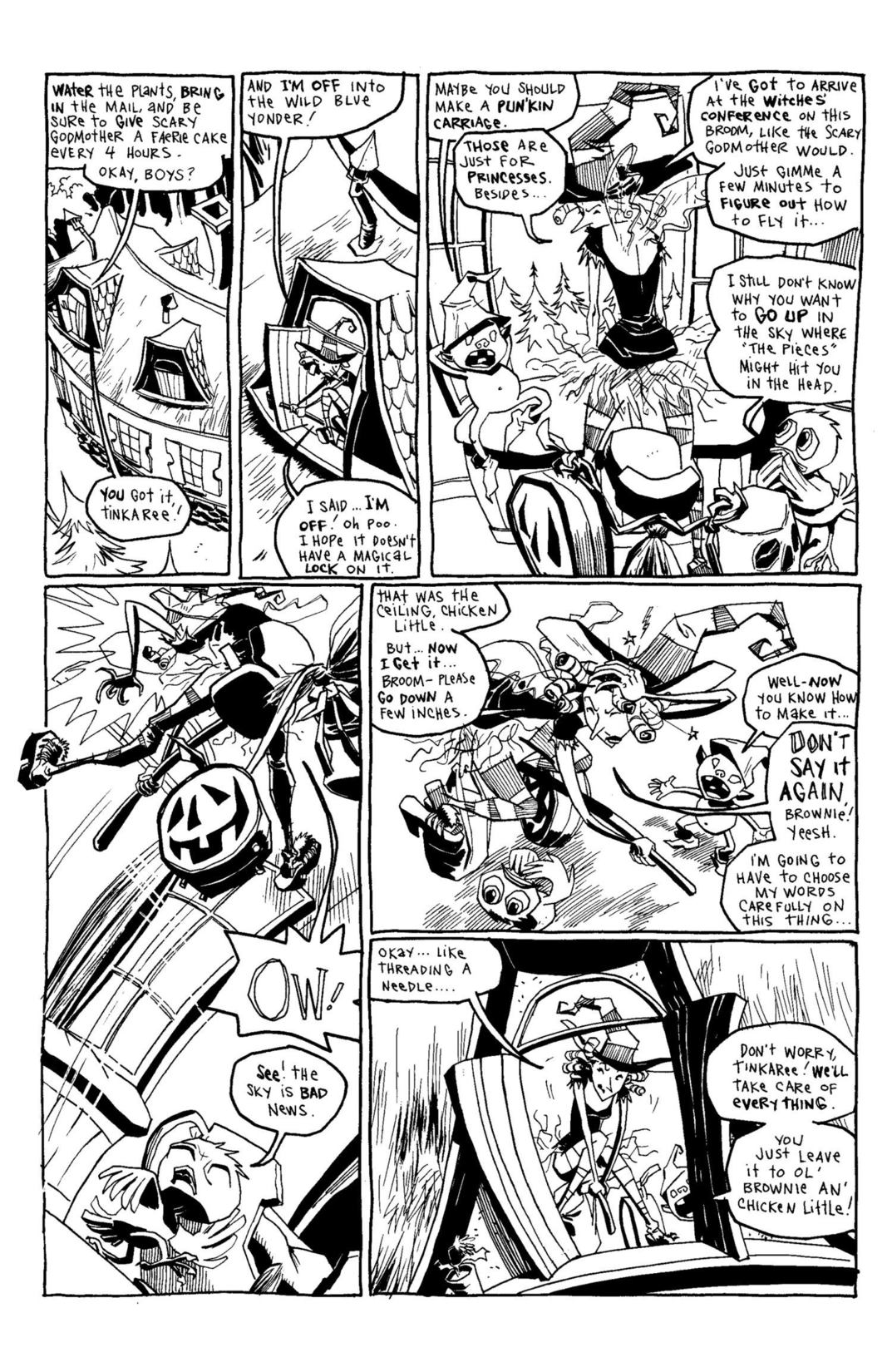 Read online Scary Godmother Comic Book Stories comic -  Issue # TPB - 176