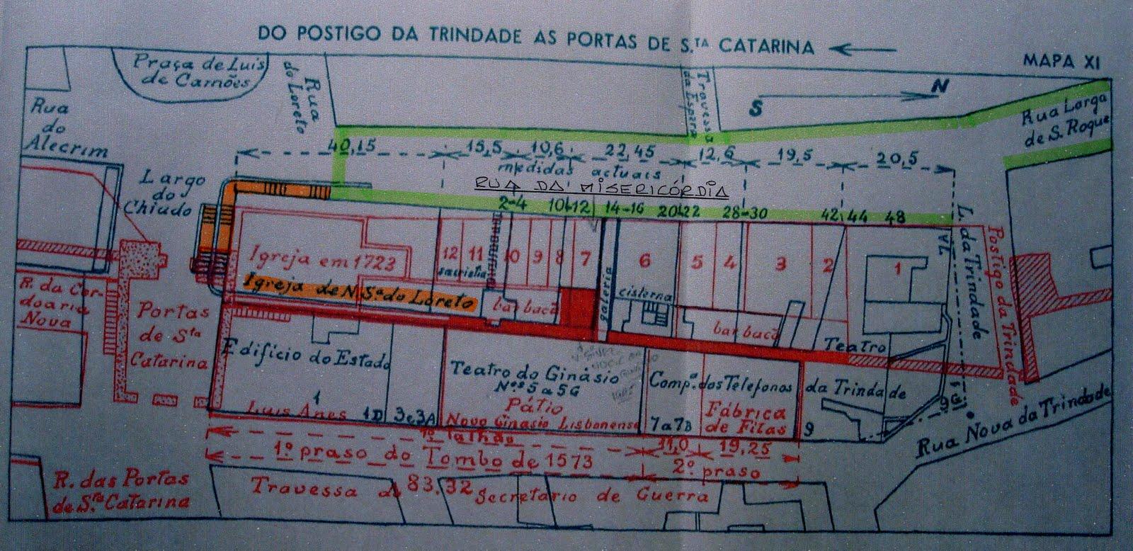 rua da misericordia lisboa mapa RUAS DE LISBOA ALGUMA HISTÓRIA: RUA DA MISERICÓRDIA [ I ] rua da misericordia lisboa mapa