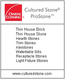 Prestige Brick and Stone Cultured Stone Products