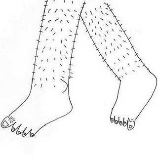 My View, My Opinion, My Blog: Casts vs Leg Hair Growth