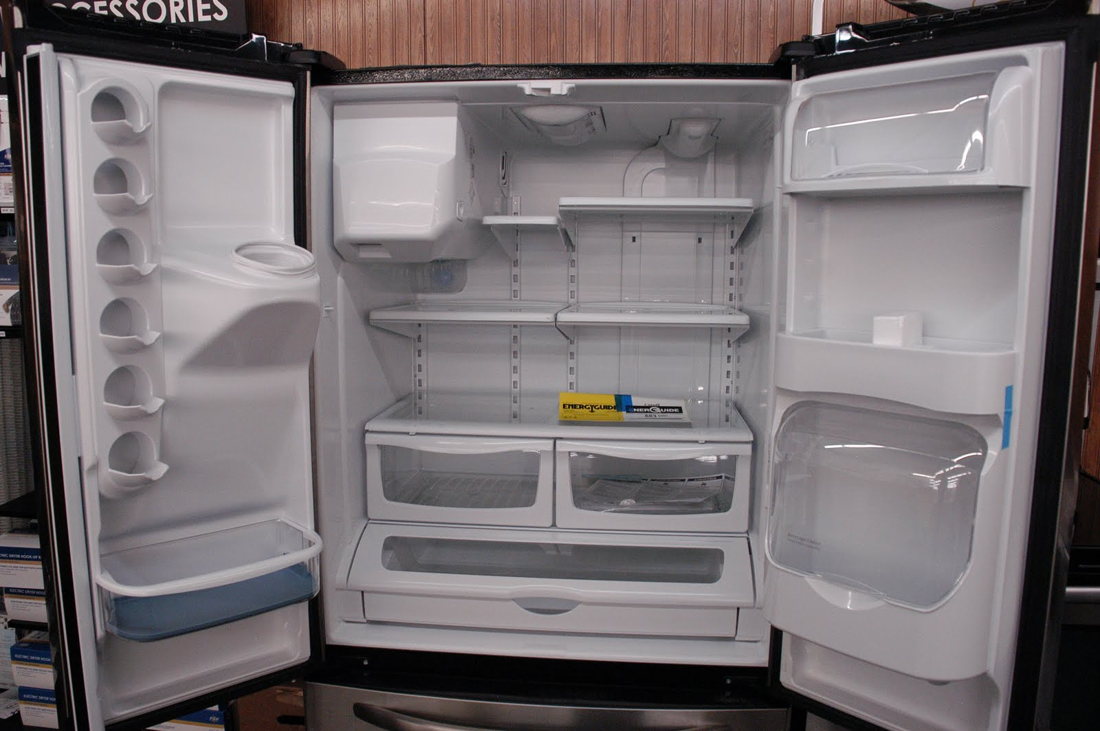 Appliance Direct Video Blog Amana Stainless Steel 25 Cu Ft French Door Refrigerator Orlando