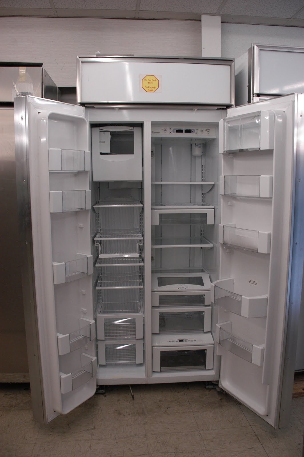 Ge Monogram 36 Built In Side By Refrigerator Orlando Liance S