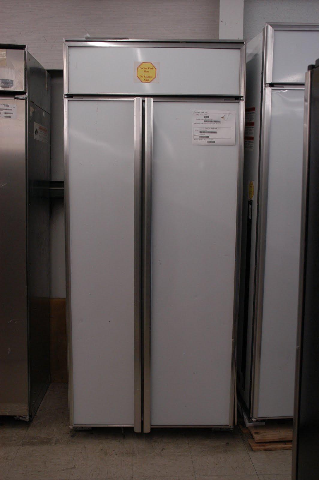 Ge Monogram 36 Built In Side By Refrigerator Model Zis360nm