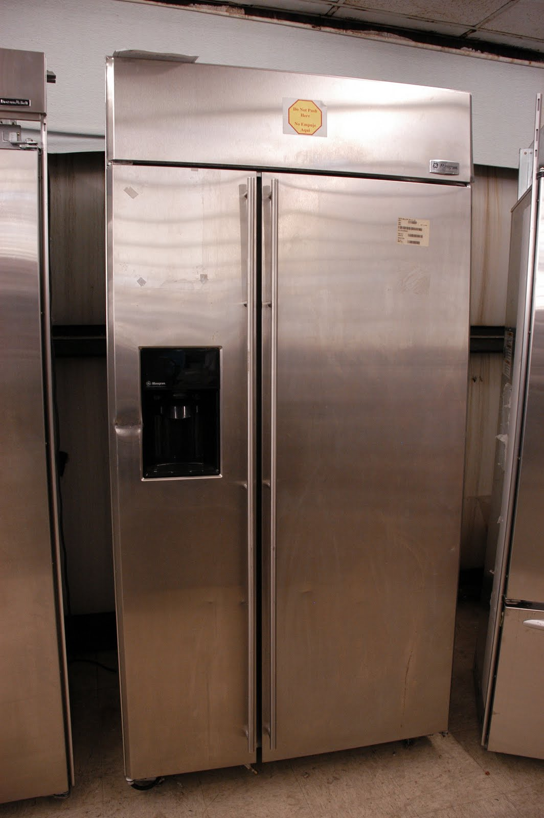 Appliance Direct Video Blog Ge Monogram 42 Quot Built In Side