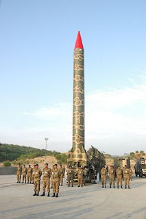 Ghauri missile of Pakistan