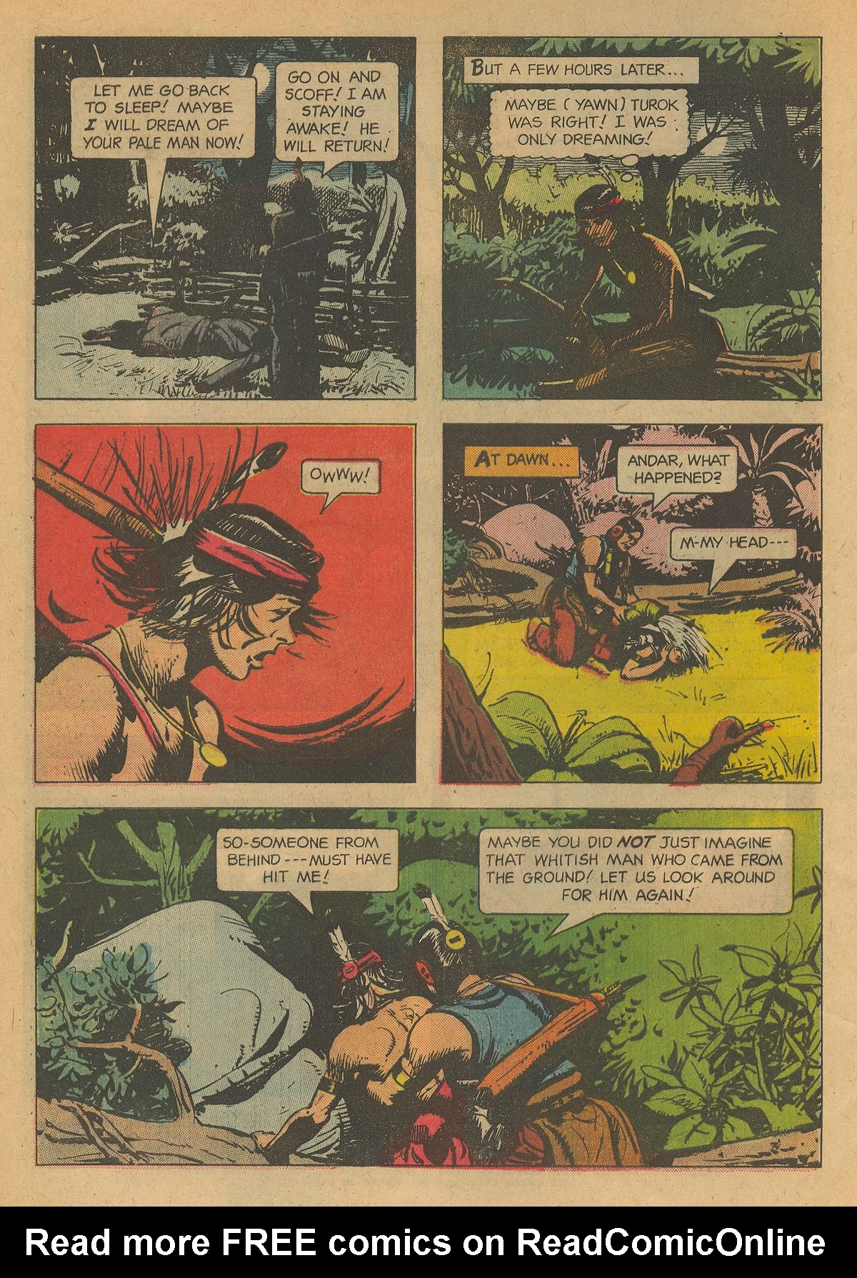 Read online Turok, Son of Stone comic -  Issue #34 - 4