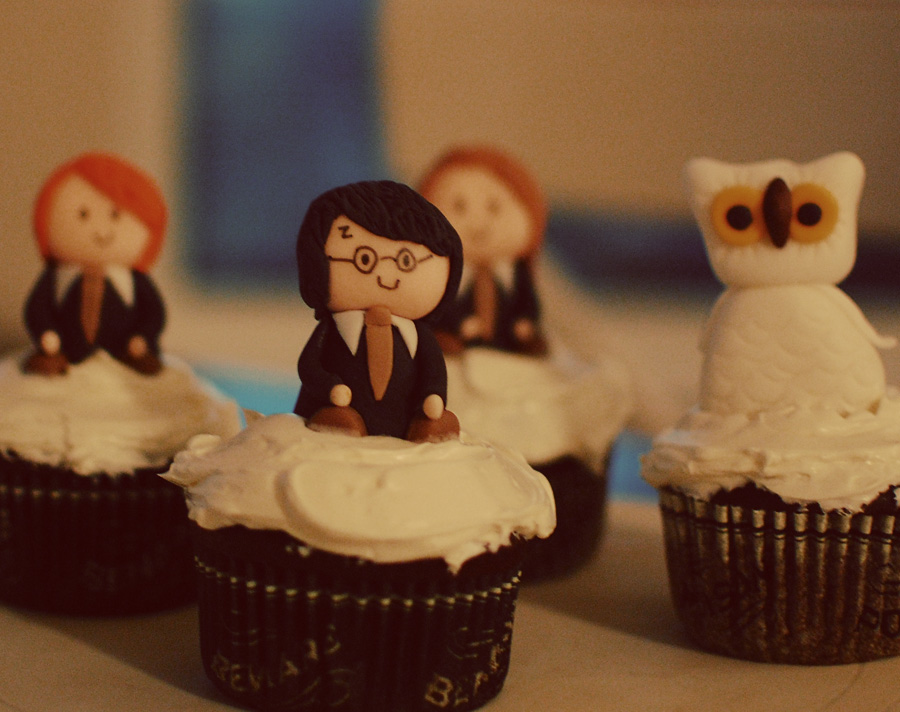 Stationery Scoop Harry Potter Cupcakes