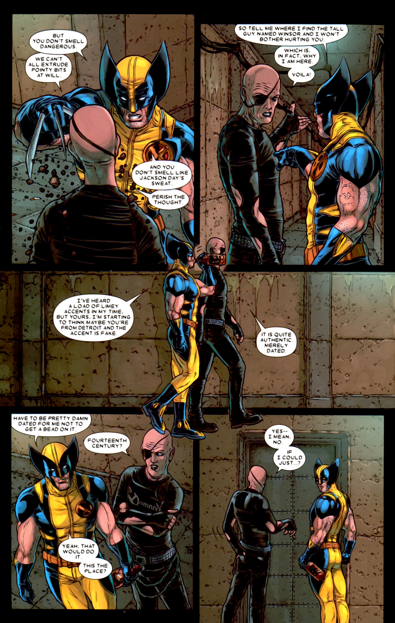 Read online Wolverine: The Best There Is comic -  Issue #2 - 19