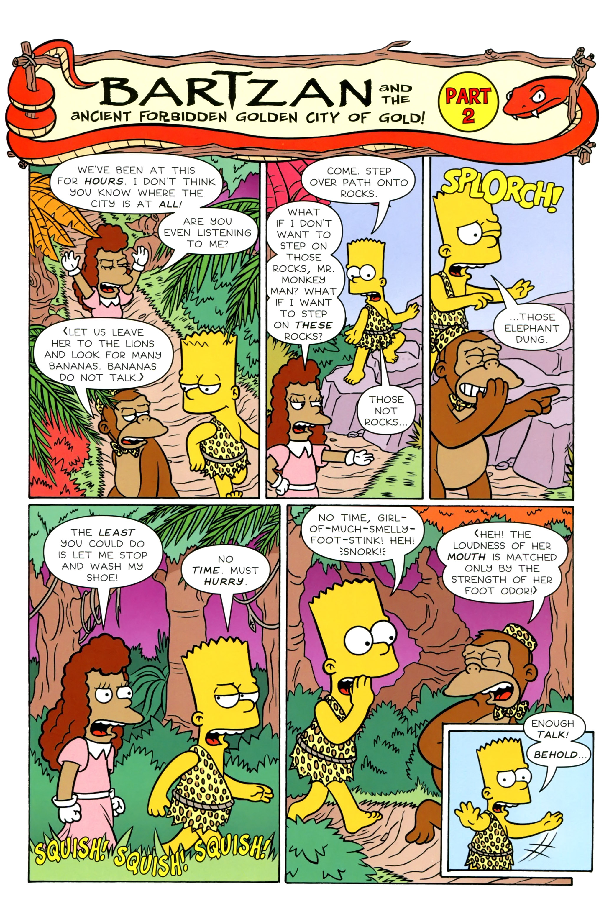 Read online Simpsons Illustrated (2012) comic -  Issue #20 - 35
